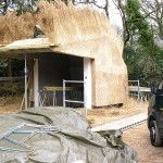 Nieuw rieten dak - Tuinhuisje Laren