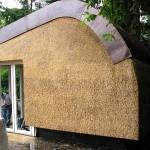 Nieuw rieten dak - Tuinhuisje Laren afgewerkt