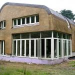 Nieuw rieten dak - modern - gevelbekleding - Laren