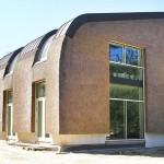 Nieuw rieten dak - modern - gevelbekleding - Laren zijkant