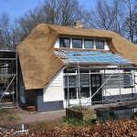 Rieten dak - Boerderij Ermelo pannen
