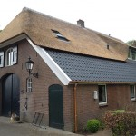 Rieten dak - Boerderij Putten achterkant