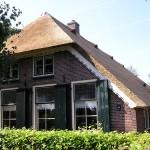 Rieten dak - Boerderij Putten voorzijde