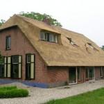 Rieten dak - Boerderij Woudenberg voorzijde