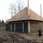 Rieten dak - Hooiberg Lunteren