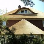 Rieten dak - Villa Apeldoorn