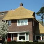 Rieten dak - Villa Apeldoorn voorzijde