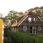 Rieten dak - Villa Ermelo voorzijde