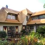 Rieten dak - Villa Putten veraf