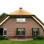 Rieten dak - Woonhuis Ermelo achterkant