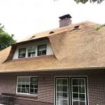 Rieten dak - Woonhuis Ermelo zijkant