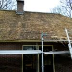 Rieten dak - onderhoud - woonhuis Putten fase 2