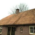Rieten dak - onderhoud - woonhuis Putten resultaat