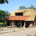 Rieten-dak-timmerwerk-Woonhuis-Putten