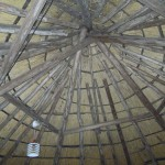 Rieten dak_Hooiberg Putten_binnenzijde