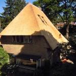 Nieuw rieten dak - villa Apeldoorn